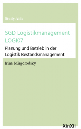 SGD Logistikmanagement LOGI07