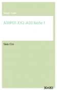 AWP01-XX2-A03 Note 1