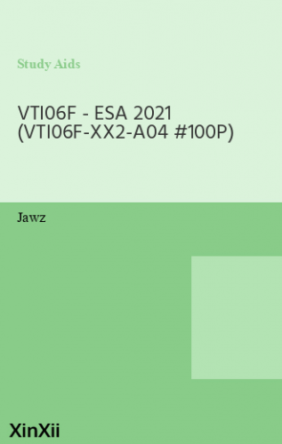 VTI06F - ESA 2021 (VTI06F-XX2-A04 #100P)