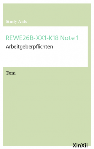 REWE26B-XX1-K18 Note 1