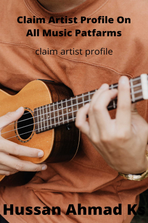 Claim Artist Profile On All Music Platforms