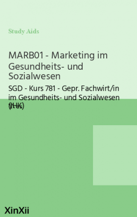MARB01 - Marketing im Gesundheits- und Sozialwesen