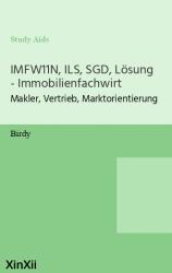 IMFW11N, ILS, SGD, Lösung - Immobilienfachwirt
