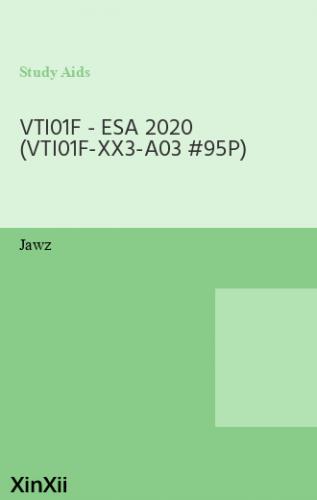 VTI01F - ESA 2020 (VTI01F-XX3-A03 #95P)