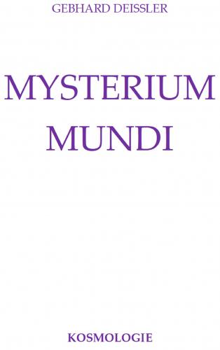 MYSTERIUM MUNDI