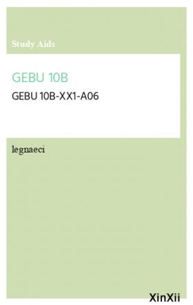 GEBU 10B