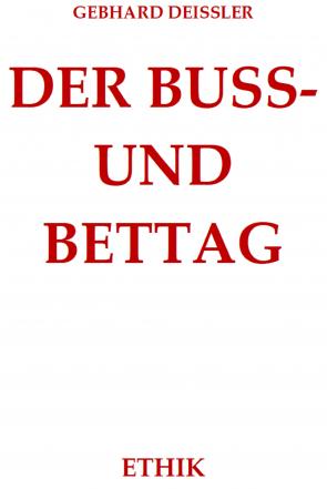 DER BUSS- UND BETTAG
