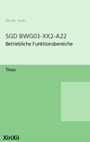 SGD BWG03-XX2-A22
