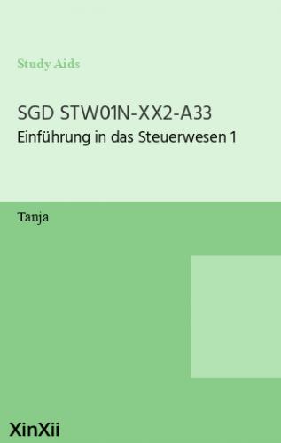 SGD STW01N-XX2-A33