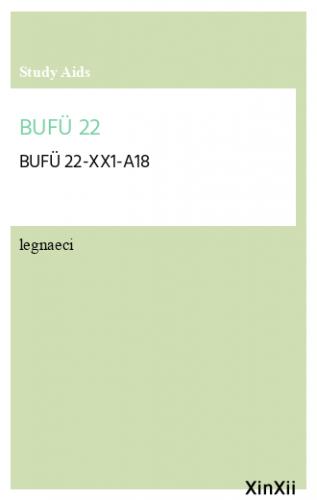 BUFÜ 22