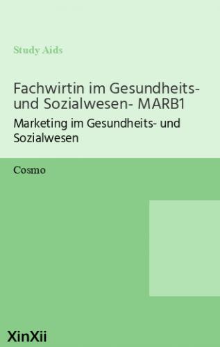 Fachwirtin im Gesundheits- und Sozialwesen- MARB1