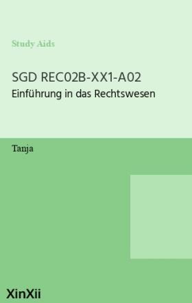SGD REC02B-XX1-A02