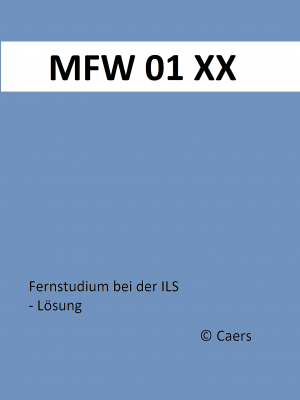 MFW 01 / Gepr. Fachwirt Marketing (IHK) / ILS / Lernmethodik