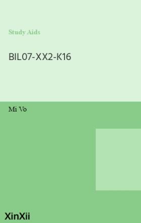BIL07-XX2-K16