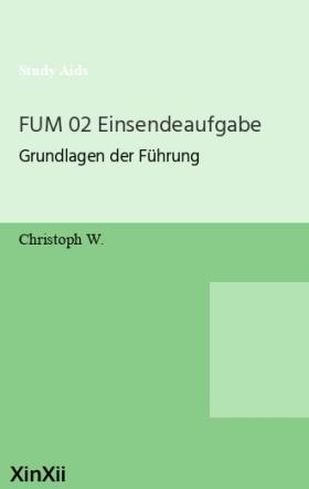 FUM 02 Einsendeaufgabe