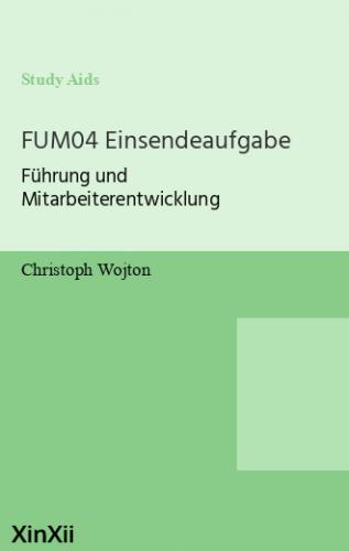 FUM04 Einsendeaufgabe