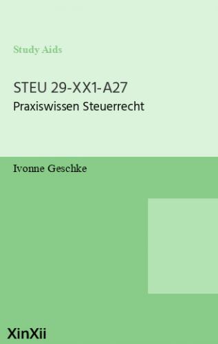 STEU 29-XX1-A27