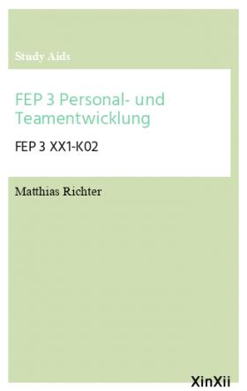 FEP 3 Personal- und Teamentwicklung