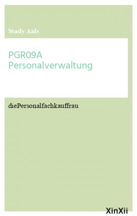 PGR09A Personalverwaltung