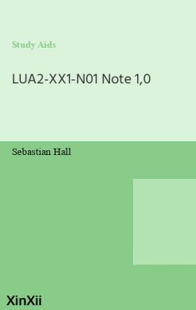 LUA2-XX1-N01 Note 1,0