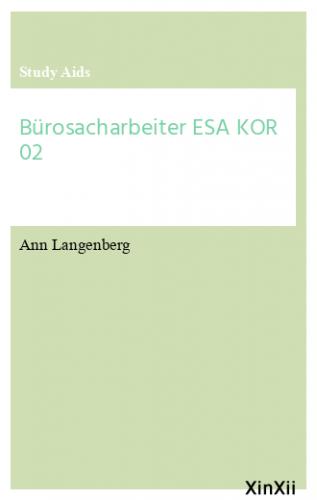 Bürosacharbeiter ESA KOR 02