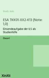 ESA TKK01-XX2-K13  (Note: 1,0)