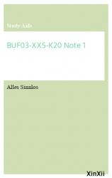 BUF03-XX5-K20 Note 1