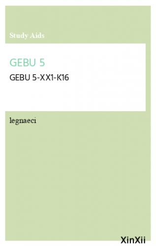 GEBU 5