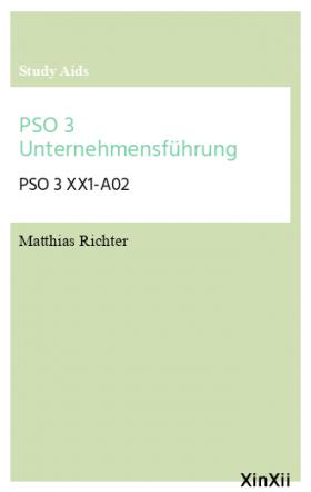 PSO 3 Unternehmensführung