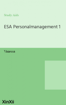 ESA Personalmanagement 1