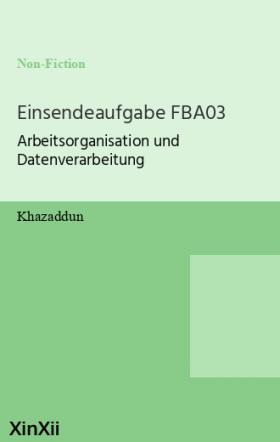 Einsendeaufgabe FBA03