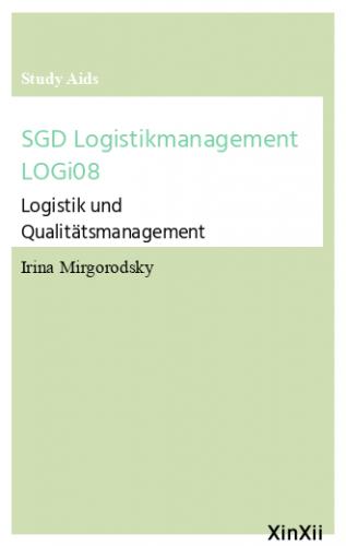 SGD Logistikmanagement LOGi08