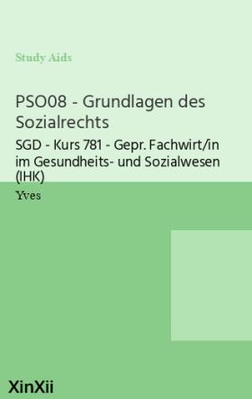 PSO08 - Grundlagen des Sozialrechts