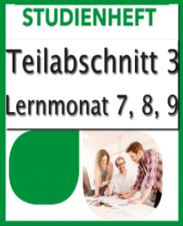 Geprüfter Immobilienmakler SGD-Fernkurs776 Teil3 Lernmonat 7-9