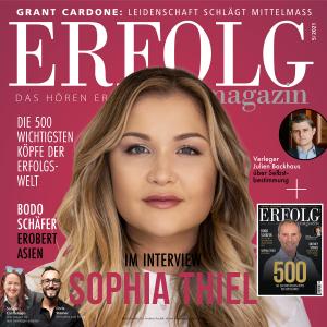 ERFOLG Magazin 05/2021 – Sophia Thiel und Bodo Schäfer