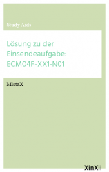 Lösung zu der Einsendeaufgabe: ECM04F-XX1-N01