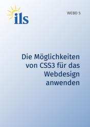 WEBD 5 – Die Möglichkeiten von CSS3 für das Webdesign anwenden