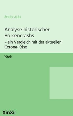 Analyse historischer Börsencrashs