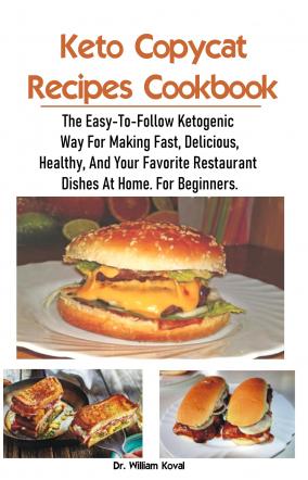 Keto Copycat Recipes Cookbook