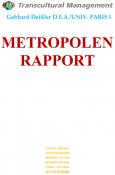 METROPOLEN RAPPORT