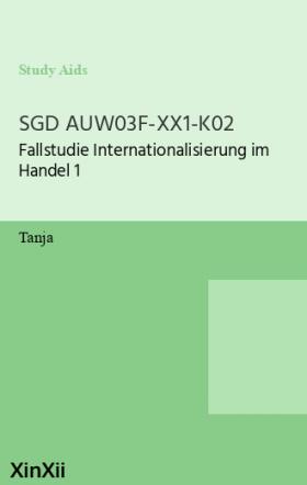 SGD AUW03F-XX1-K02