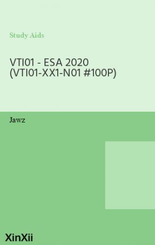 VTI01 - ESA 2020 (VTI01-XX1-N01 #100P)