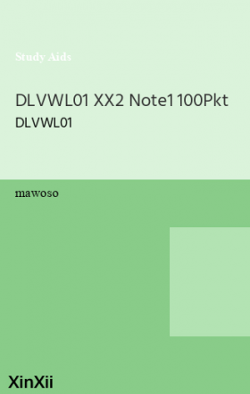 DLVWL01 XX2   Note1   100Pkt