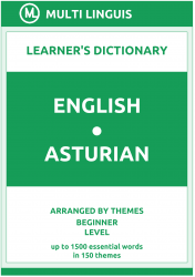 English-Asturian Learner's Dictionary