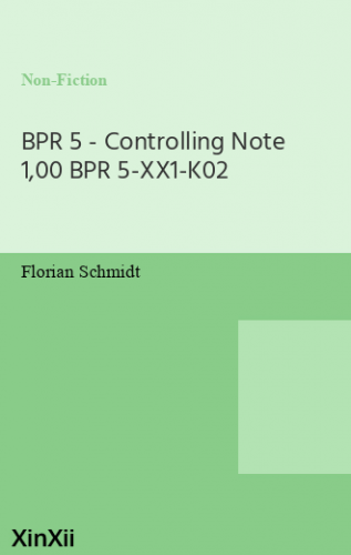 BPR 5 - Controlling Note 1,00 BPR 5-XX1-K02