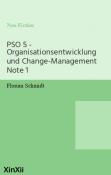 PSO 5 - Organisationsentwicklung und Change-Management Note 1