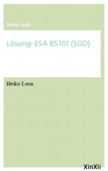 Lösung: ESA BST01 (SGD)