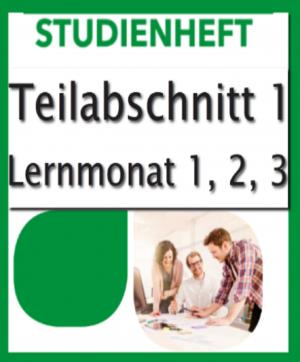 Geprüfter Immobilienmakler SGD-Fernkurs776 Teil1 Lernmonat 1-3