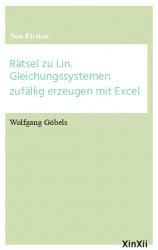 Rätsel zu Lin. Gleichungssystemen zufällig erzeugen mit Excel