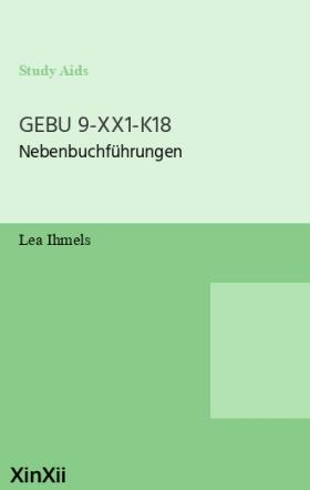 GEBU 9-XX1-K18